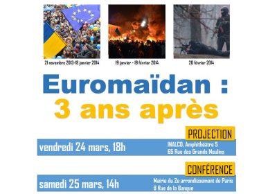 Euromaïdan 3 ans après